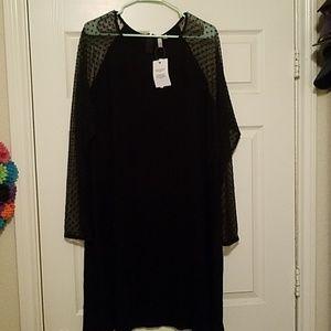 Perfect Black Knee Length ASOS dress